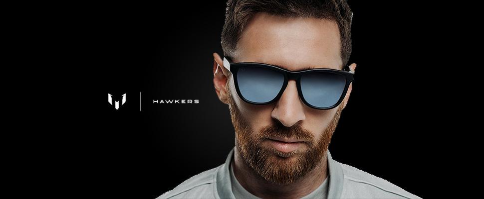 la mejor actitud 1f383 225d4 Messi y Hawkers estrenan su colección de gafas ...