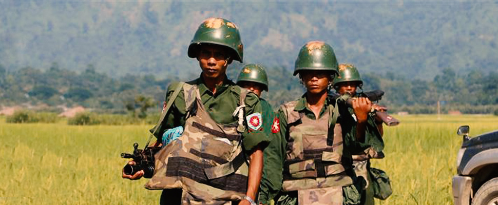 Myanmar deploys more troops to restive Rohingya area