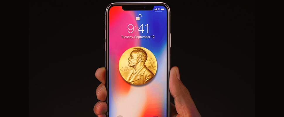 Iphone X The Link Between The Cellphone And The Nobel