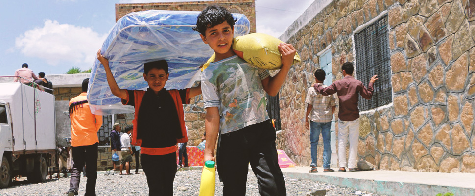 Yemen: humanitarian aid is on its way