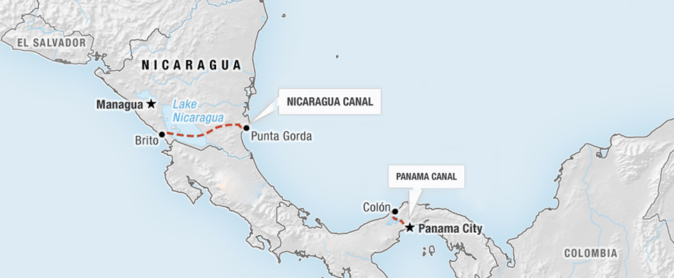 What happened with the Nicaragua channel? - LatinAmerican Post
