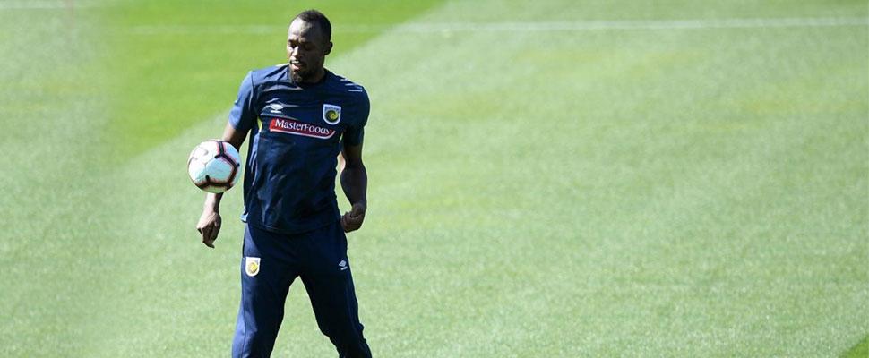 El legendario Usain Bolt logró su sueño: ¡Ya es futbolista!