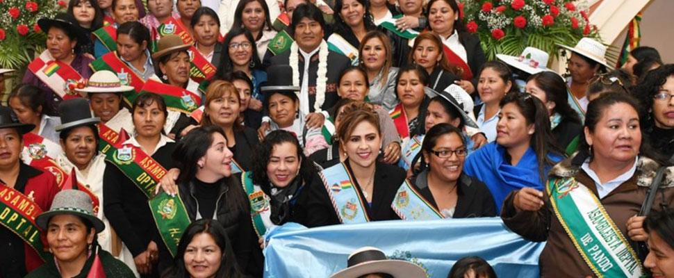 Bolivia: La violencia hacia las mujeres en la política no disminuye