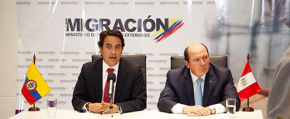 ¿Por qué Perú y Colombia acordaron construir un banco de datos de migrantes venezolanos?