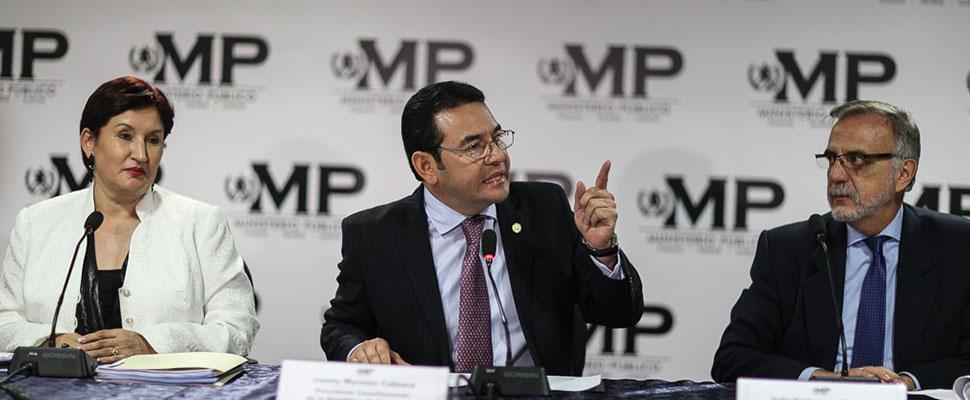 Guatemala: Los motivos de Jimmy Morales para expulsar a la CICIG