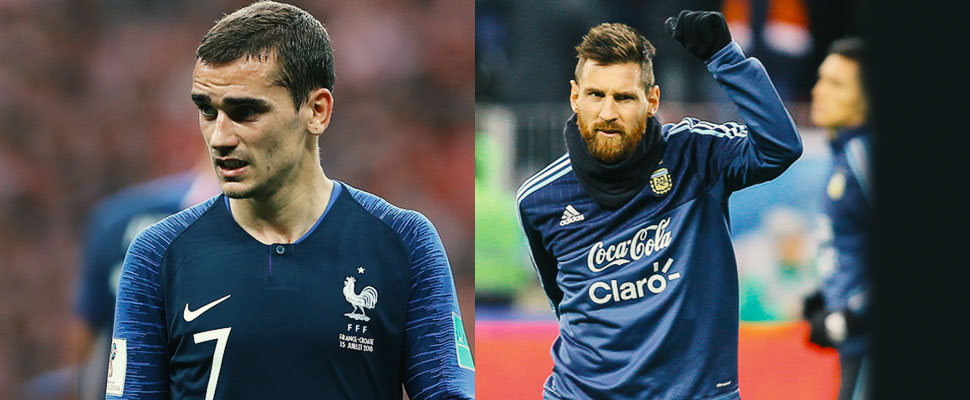 "Are they not the best? Messi and Griezmann are not nominated for the ""FIFA The Best"" awards"