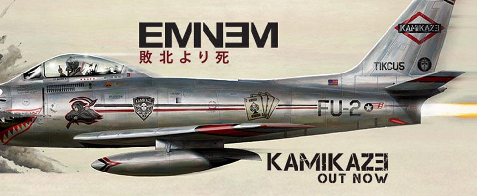 Kamikaze es el décimo álbum de estudio de Eminem