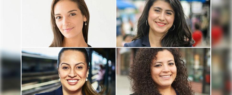 Estas 4 mujeres de origen colombiano buscan llegar al Senado de Nueva York
