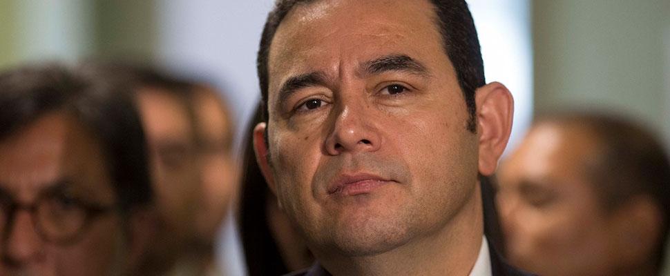 Guatemala: Crece la polémica contra Jimmy Morales