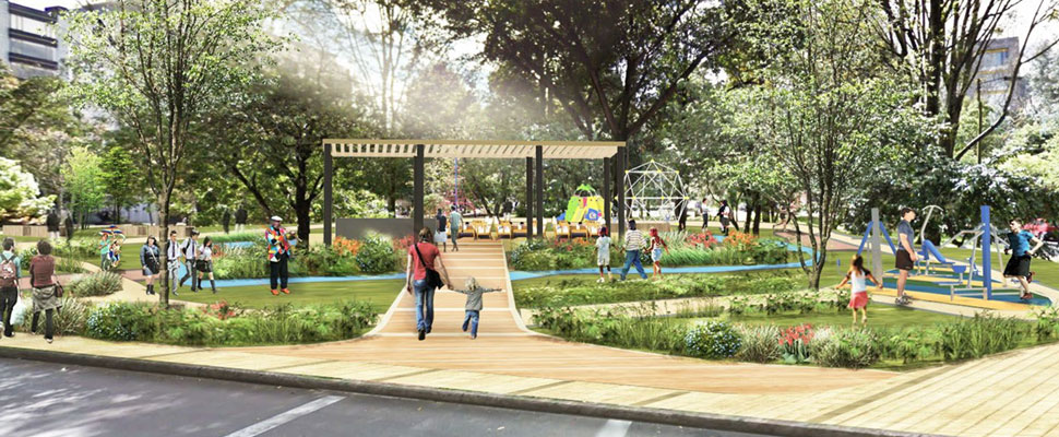 Bogotá: Dejen el Parque del Japón como está