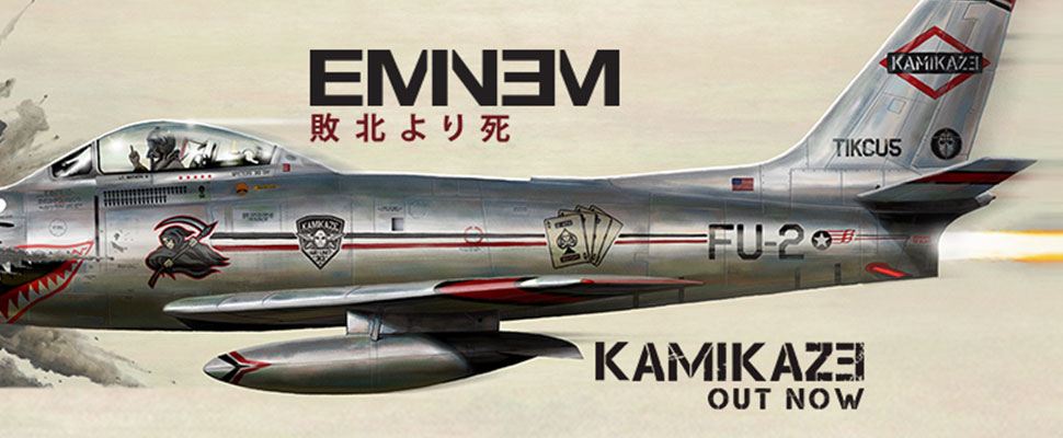 Eminem fights against the new generation of rap with his new album