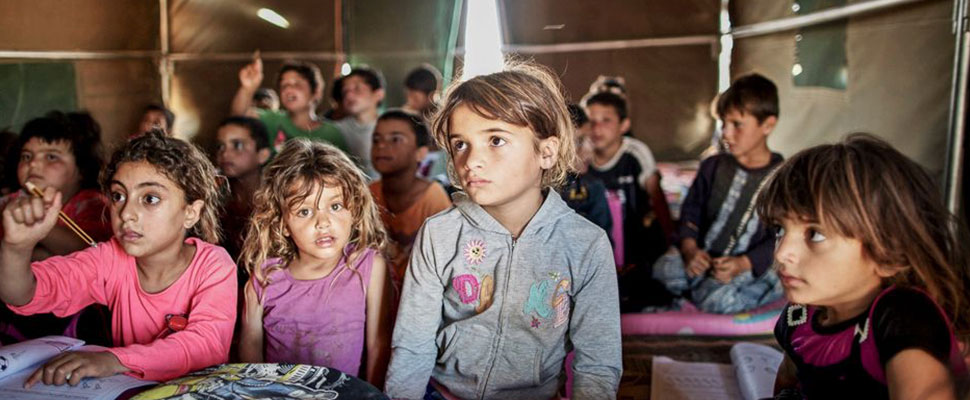 Middle East: The education of children living the conflict is endangered