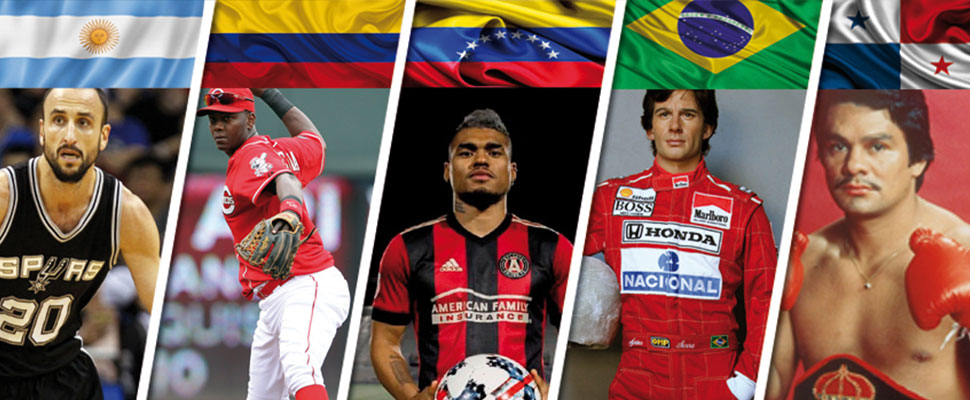 Beyond soccer: These Latinos have excelled in other sports