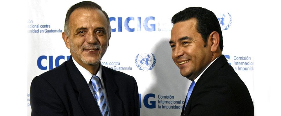 ¿Por qué Guatemala se niega a recibir al jefe de la CICIG?
