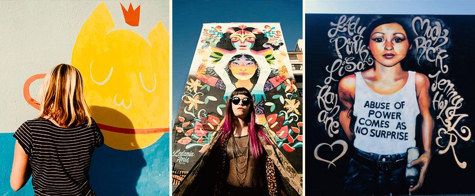 5 artistas urbanas que deberías seguir en Instagram