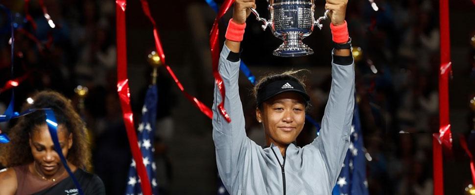 Serena Williams fue el primer obstáculo: Naomi Osaka es una gran promesa deportiva