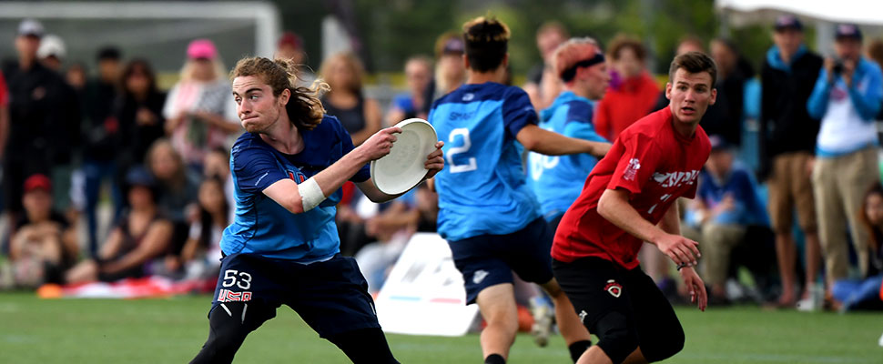 Ultimate: the sport where there are no referees