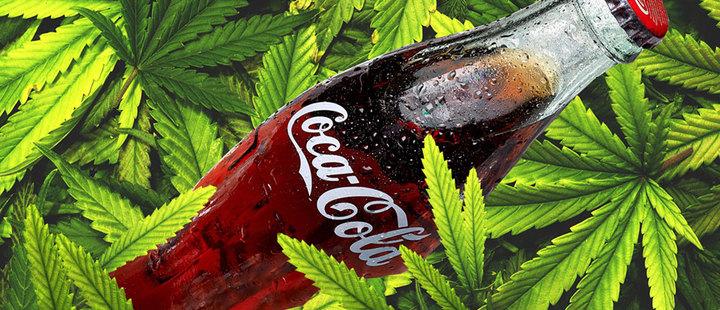 ¿Se tomaría una Coca-Cola con canabis?