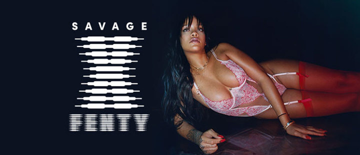 ¡La maternidad está de moda! Embarazadas desfilan en la pasarela de Rihanna