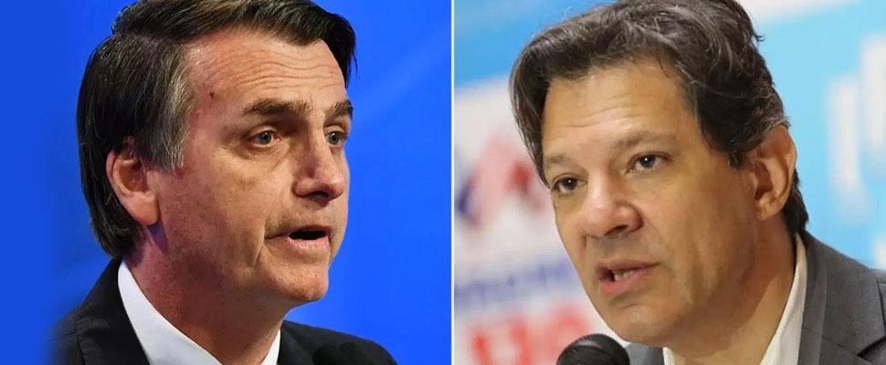 Brasil: Bolsonaro vs Haddad ¿Quién llegará ocupar la presidencia?