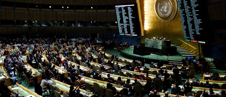 Which topics should be addressed at the UN General Assembly?