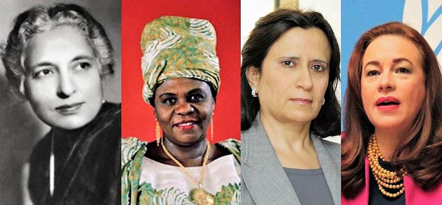 4 asombrosas mujeres que han liderado la Asamblea General de la ONU