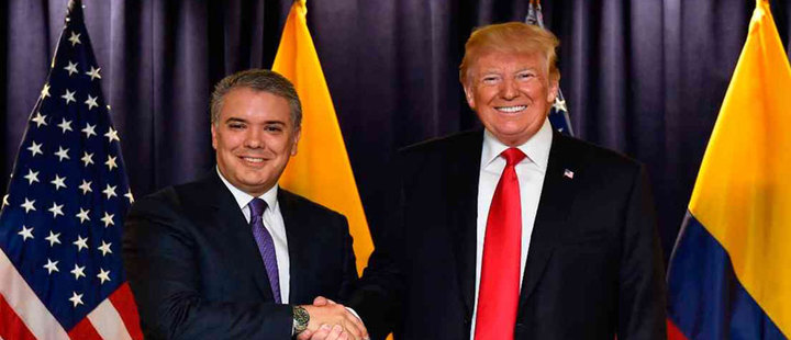 Trump and Duque: What did they talk about at the UN General Assembly?