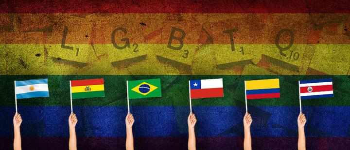 Representantes de las Organizaciones participantes en el III Encuentro Regional de Organizaciones LGBTI