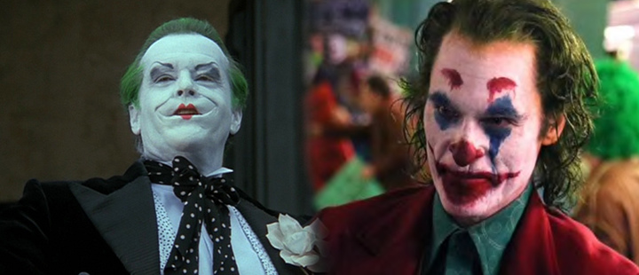 From 1966 to 2018: This has been the evolution of the joker