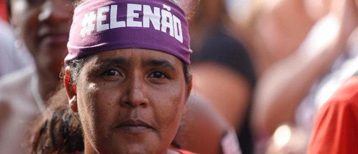 Brasil: El destino de Bolsonaro está en manos de las mujeres