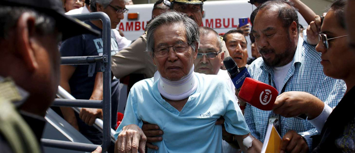 Perú: Alberto Fujimori vuelve a prisión