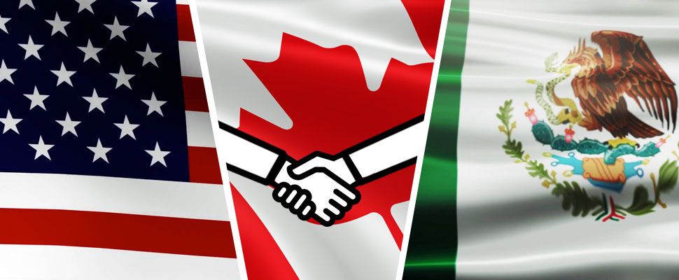 This is the new trade agreement between the US, Mexico, and Canada