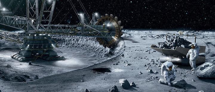 El futuro de la minería podría estar en el espacio