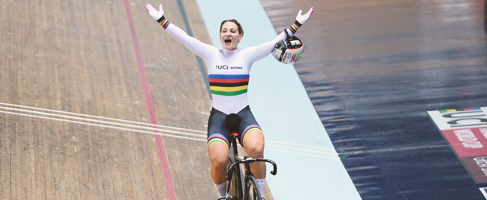 Kristina Vogel: the two-time Olympic champion who doesn't give up