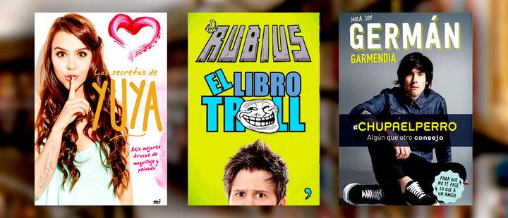 Libros de youtubers: ¿arte o banalidad?