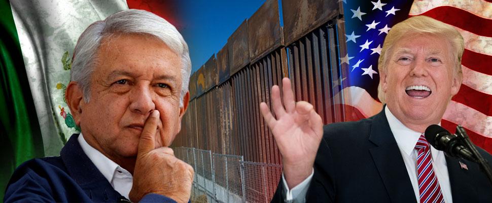Así evitaría AMLO la construcción del muro