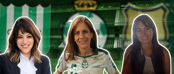 10 Latinas who have been presidents of soccer clubs