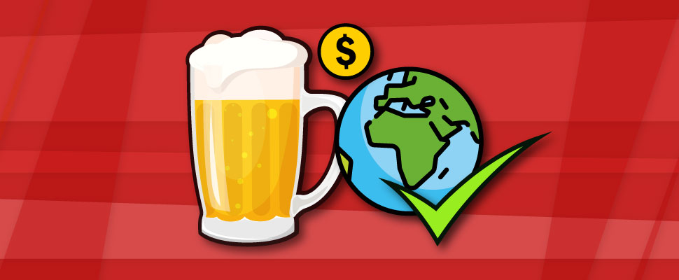 Would you pay more to drink sustainable beer?