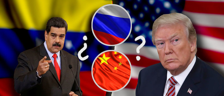 Would Russia and China support Venezuela in an armed conflict against the United States?
