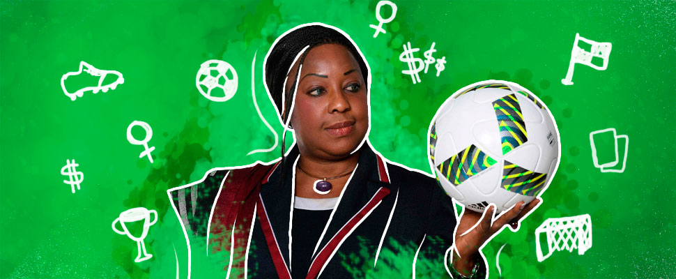 Meet the Senegalese who works to claim women in football