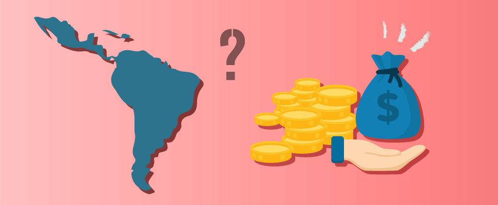 Latin America: Which are the countries that have the most external debt?
