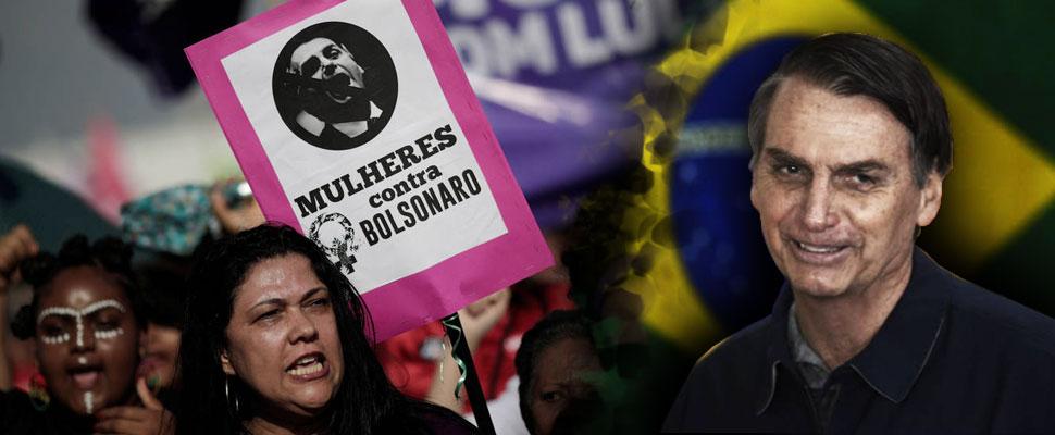 Este es el panorama de la mujer si Jair Bolsonaro es elegido presidente