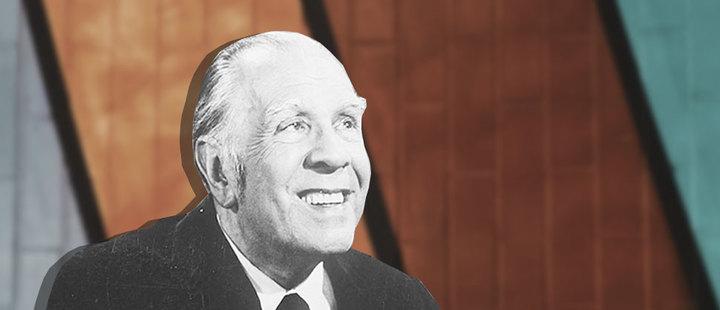 ¡Histórico! Borges recibe Premio Nobel de Literatura simbólico