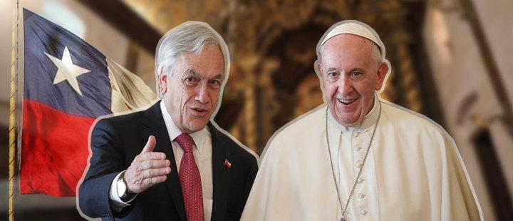 Esto sucedió en la visita de Sebastián Piñera al Papa Francisco