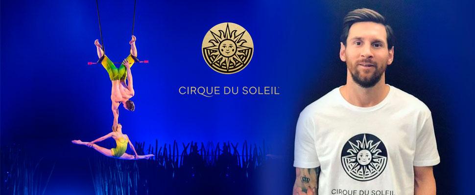 Cuando Messi inspira el arte: El nuevo espectáculo del Circo del Sol