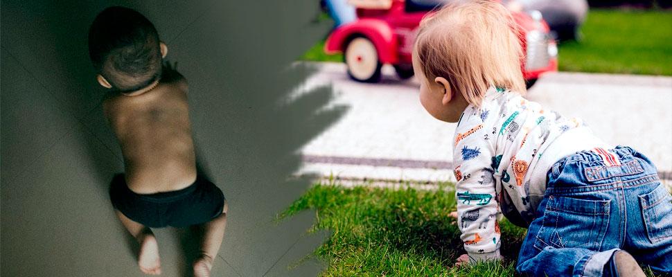 ¿Sabes qué hacer si tu bebé todavía no gatea?