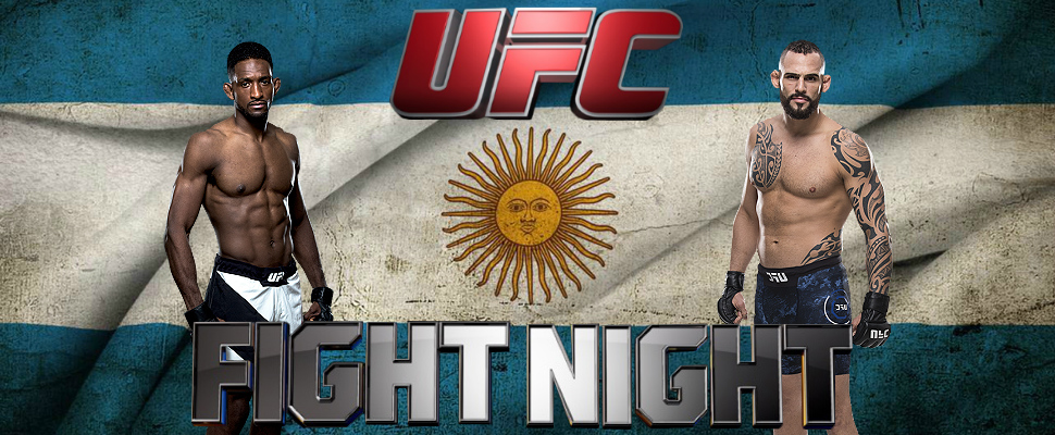 Amazing! For the first time Argentina will receive the UFC
