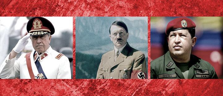 ¿Sabes qué tienen en común Chávez, Hitler y Pinochet?