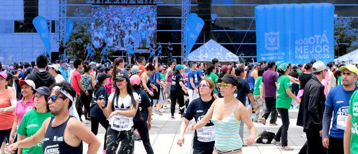 ¡Imperdible! La Súper Maratón Aerobic Fest se toma Bogotá