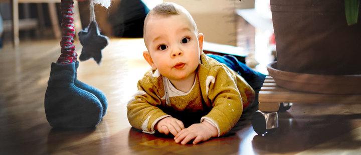 Haz de tu casa un lugar seguro para tu bebé